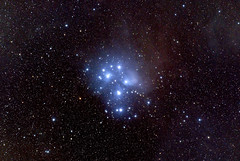 Pleiades - M45, taken by standard camera (Vladimir Machek) Tags: pleiades m45 messier45 astrophotography deepsky nikonz7 universe outside sky light nature night astrometrydotnet:id=nova3734964 astrometrydotnet:status=solved