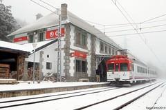 Eléctrico de Guadarrama (yagoortiz) Tags: renfe 442 cotos nieve cercedilla madrid sierra montaña guadarrama