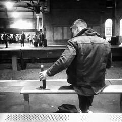 Buckfast Wine @ Platform 2, Newcastle Station (Brett T) Tags: