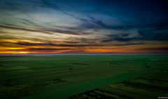 Sunset colors! (brainiac220) Tags: photography passion joy colors autumn november dslr dlsrphotography drone dji spark nikon d80 sunset outdoors lights city romania bucharest park sky skyline lake dam lakeview field greenfield photoshooting