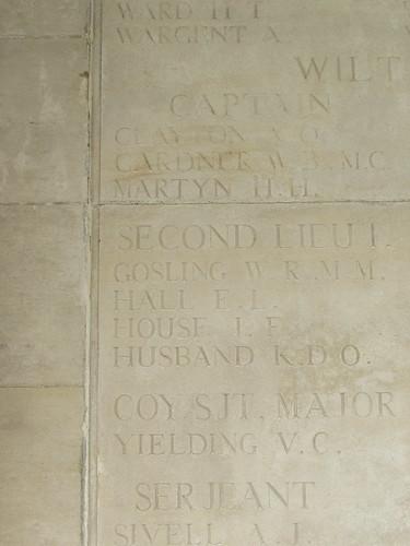 Ovillers-la-Boisselle: Pozières Memorial (Somme)