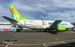 Modern Logistics B737-300 N421AU/PP-YBC (aleks_cal) Tags: modern logistics modernlogistics brazil cargo airline colors colores costarica coopesa aviation avion carguero conversion boeing b737 b737300 sanjose