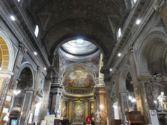 Italy - Rome - Basilica San Andrea delle Fratte - Nave (JulesFoto) Tags: italy rome roma church interior