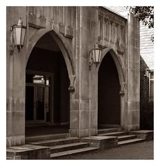 Arches (kodak dinosaur) Tags: canon 70d digital photography f14 50mm lens monochrome bw architecture