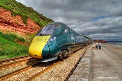 Class 800 Intercity Express, Dawlish, Devon