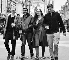 That's what friends are for. (6m views. Please follow my work.) Tags: bw blackandwhite monochrome noiretblanc candidstreetphotography ls1 leeds westyorkshire greatbritain portrait people google gb googleimages briggate briggateleeds zwartwit interesting street streetportraits streetlife peopleinthestreet white black photographer britain e amateur bianco nero city england blancoynegro blanco candid citycentre candidportrait enblancoynegro excellentphoto ennoiretblanc blancoenero mamfphotography