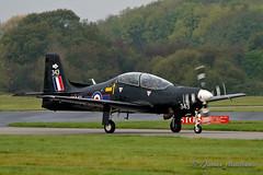 RAF Shorts Tucano T1 ZF343 of 72(R) Squadron (James P Matthews) Tags: raf plane aeroplane aircraft propeller turboprop aviation trainer zf343 royalairforce lintononouse yorkshire shortstucano tucanot1
