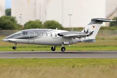 D-IPPY_01 (GH@BHD) Tags: dippy piaggio p180 avanti piaggiop180avantievo airgoflugservice belfastcityairport bhd egac turboprop bizprop corporate executive aircraft aviation
