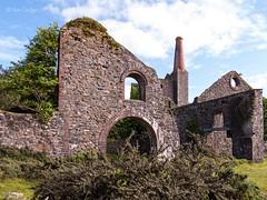 South Phoenix Mine Buildings (Ian Gedge) Tags: uk england britain cornwall kernow minions mine bodminmoor ruins