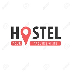 Hostel logo (Local-Gringos) Tags: symbol logo design concept map housing hotel travel vector abstract art business sign pillow hostel icon waypoint sleep line marker estate location navigation night outline place point pointer realty shape web wellness resort green leaf luxury modern beach lotus beauty boutique classic company decoration decorative elegant element emblem floral flourish