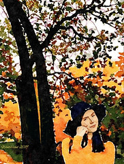 autumn girl.....2019 11 10 (wintersoul1) Tags: autumn youngwoman autumncolors trees