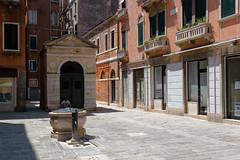 Venice, Italy (wildhareuk) Tags: balcony canon canoneos500d church italy street tamron18270mm venice venice2019 building drinkingfountain tamron tiny well img0087dxo