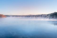 Falls Lake, Raleigh, NC (nataliekrovetz) Tags: xt2 landscape lake mist sunrise nature morning morninglight fujifilmxt2 fujifilm mirrorless