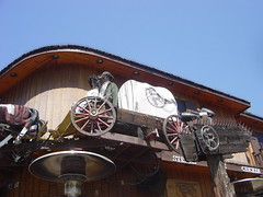Saddle Ranch West Hollywood (ruruproductions) Tags: saddleranch westhollywood chophouse restaurant oldwest horsedrawn wagons losangeles landmark western themed