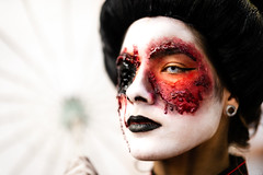 Dead Geisha (k.jessen) Tags: brasil zombie zumbi zombiewalk zombiewalksp zombiewalksp2019 brazil blood saopaulo sãopaulo geisha brains sangue gueixa miolos