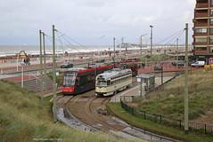 Aan zee (Maurits van den Toorn) Tags: tram tramway tranvia strassenbahn eléctrico pcc htm denhaag the hague scheveningen kust coast strand beach avenio