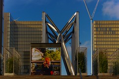 La grande bibliothèque (Edgard.V) Tags: paris parigi architecture arquitectura architectura françois mitterrand library biblioteca sunset coucher de soleil tramonto pordesol lumière luz light luce