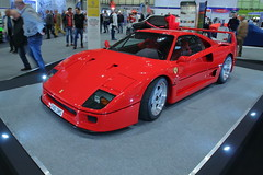 Ferrari F40 (JoRoSm) Tags: nec classic motor show motorshow carshow classiccars necclassic autos automobile automobiles cars vehicles automotive petrolheads canon tamron 1750 f28 dpp raw processing ferrari f40 f40dms red supercar