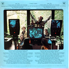 I Think We're All Bozos On This Bus - Back Cover (epiclectic) Tags: 1971 firesigntheatre comedy backcover epiclectic vintage vinyl record album art retro music sleeve collection lp cover epiclecticcom