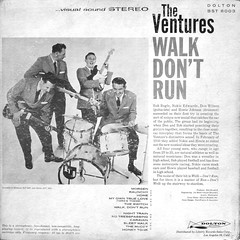 Walk Don't Run - Back Cover (epiclectic) Tags: 1961 theventures backcover epiclectic vintage vinyl record album art retro music sleeve collection lp cover epiclecticcom