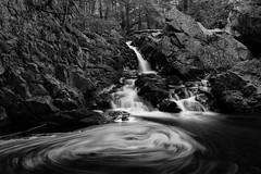 Bear's Den swirl (t s george) Tags: blackandwhitephoto waterfall timelapse longexposure newsalemma moody canon6dmarkii