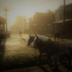 Red Dead Redemption 2 (Curtis Beadle Photography) Tags: red dead redemption gaming game games atmosphere vintage photomode photography nvidia 2080ti 5k ultra edit rays
