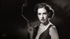 Hollywood Smoke (OwenLloyd) Tags: 1930s 1940s 3fs classic hollywood hotlights rayne rayneswan