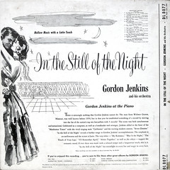 In The Still Of The Night - Back Cover (epiclectic) Tags: 1961 gordonjenkins backcover epiclectic vintage vinyl record album art retro music sleeve collection lp cover epiclecticcom