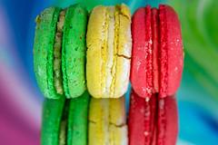 Macaron reflection (jeff's pixels) Tags: macromondays macaron reflection creative color food