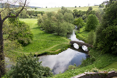 Grounds of Haddon Hall, England (Billy Wilson Photography) Tags: 2019 adventure biketour cycling europe haddon hall derbyshire countryside bridge river england uk united kingdom britain