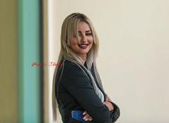 Blonde Smile (Paul Saad) Tags: woman pretty beautiful nikon d850 lebanon portrait girl people model women models blonde outdoor