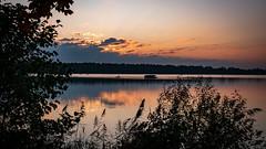 Paysage v3 (scossu) Tags: amaury étang nature lac eau coucher crépuscule nord