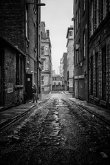 Suspicion (stephen cosh) Tags: 35mmsummicron blackandwhitephotography delta400 glasgow leicamp stephencosh streetphotography scotland unitedkingdom