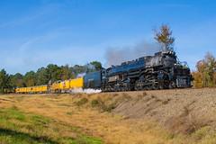 Union Pacific Jacksonville, TX (jtrainb) Tags: 4014 jacksonville pplmr210 palestinesub railroads texas unionpacific elavation locomotive steam train
