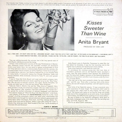 Kisses Sweeter Than Wine - Back Cover (epiclectic) Tags: 1961 anitabryant backcover epiclectic vintage vinyl record album art retro music sleeve collection lp cover epiclecticcom