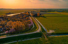 West Frisian Seawall near Schoorldam. (Alex-de-Haas) Tags: dji dutch europa europe fc6310 holland nederland nederlands netherlands noordholland p4p phantom phantom4 phantom4pro westfrisia westfriesland westfrieseomringdijk aerial aerialphotography agriculture akkerbouw beautiful beauty boerenland dijk dike farmland farming landbouw landscape landscapephotography landschaft landschap landschapsfotografie lente lucht luchtfotografie mooi polder pracht quadcopter schoonheid seawall skies sky spring sundown sunset zonsondergang warmenhuizen northholland