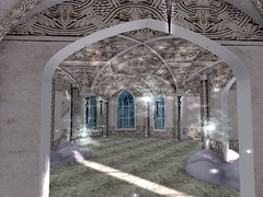 Enchantment - Snow Queen Starburst Vaulted Ceiling (mromani50) Tags: firestorm secondlife secondlife:region=nymphai secondlife:parcel=~enchantment~thesnowqueen~nov9dec2~ secondlife:x=85 secondlife:y=111 secondlife:z=2748