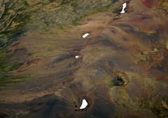 Aerial of a landform in Iceland (albatz) Tags: aerial landform iceland