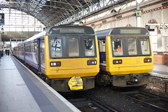 Two Down Two To Go.... (marcus.45111) Tags: manchesterpiccadilly northwest pacerdmu class142 142045 142047 2r03 2s08 flickr flickruk ukrailways exbritishrail 2019
