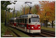 Tram Chemnitz - 2019-04 (olherfoto) Tags: tram tramcar tramway strasenbahn strassenbahn tatra tatratram chemnitz cvag