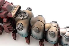 Zoids Molga: More weathering (Will Vale) Tags: kotobukiya scifi 172 zoid molga weathering zoids giantrobotcaterpillar slitherzoid scalemodel