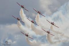Patrulla Águila. (ValdiThrash) Tags: patrullaaguila aircraft fighter c101 airforce airshow aviojet aviones