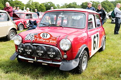 1967 Austin Works Cooper S LBL590E MCR National Mini Cooper Day Beaulieu 2019 (davidseall) Tags: 1967 austin works cooper s lbl590e mcr national mini day beaulieu 2019 register car red rally lbl 590e classic original old style shape great british hampshire uk