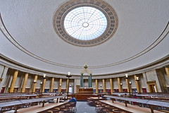 Manchester Central Library (michael_d_beckwith) Tags: manchester central library libraries book books bookshelf bookshelves shelf shelves read reading room rooms study studying learn learning education educational interior interiors inside architecture architectural place places building buildings historic historical history old famous landmark landmarks dome domes greater england english british european heritage tourism 4k 5k uhd stock free public domain creative commons zero o hires mancunian pretty pritty beautiful michaeldbeckwith michael d beckwith