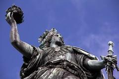 starke Frau (StellaMarisHH) Tags: europa hessen rhein germania denkmal niederwalddenkmal statue rüdesheim canon canoneos60d eos60d 60d sigma18200 sigma photoscape