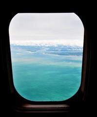Soon (Ruby Augusto) Tags: airplane avião window sea mar oceanoatlântico nuvens clouds view ba nordestebrasileiro