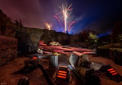 The Rockets Red Glare (mwjw) Tags: galaxysedge starwars disney disneyworld orlando florida mwjw markwalter nikond850 nightshot longexposure hollywoodstudios