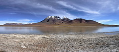 Outstanding  view (Chemose) Tags: sony ilce7m2 alpha7ii mai may bolivie bolivia paysage landscape désert piste montagne mountain andes sudlipez southernlipez desert volcan volcano lagunachulluncani chulluncani lac lake hdr caquella cerrocaquella lipez eau water