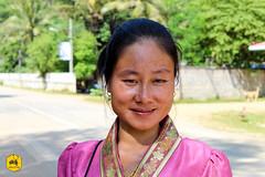 Laotian woman wearing traditional costume (Uralistan.roadtrip) Tags: laos tradition culture voyage travel travelling traveling voyager asia asie asiedusudest southeastasia portrait traditionalcostume costumetraditionnel laotianwoman laotienne