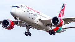 Boeing 787-8 Dreamliner 5Y-KZD Kenya Airways (William Musculus) Tags: london heathrow lhr egll airport spotting aviation plane airplane william musculus 5ykzd kenya airways boeing 7878 dreamliner kqa kq